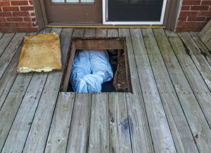 Crawl Space Mold Inspection Rhode Island