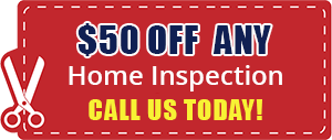 $50 off Any Home Inspection